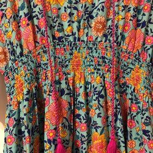 Umgee Large Floral Dress